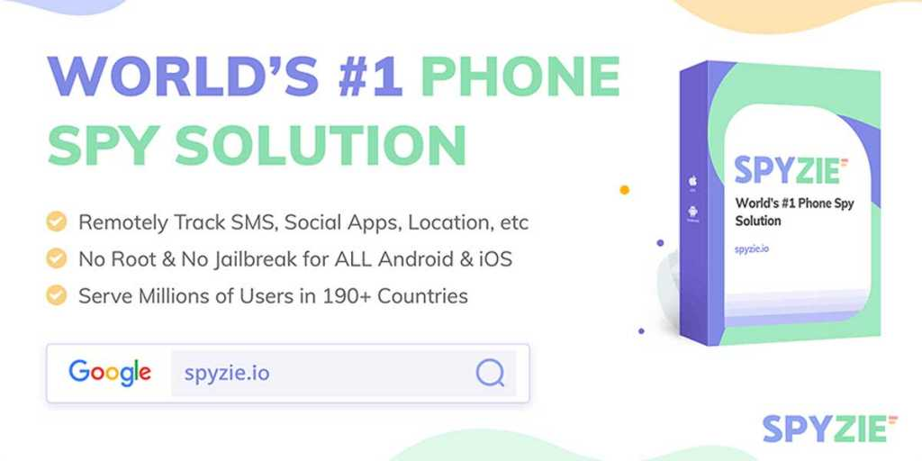 spyzie banner 1 - 5 Best Free Cell Phone Tracker to Track a Cell Phone Location